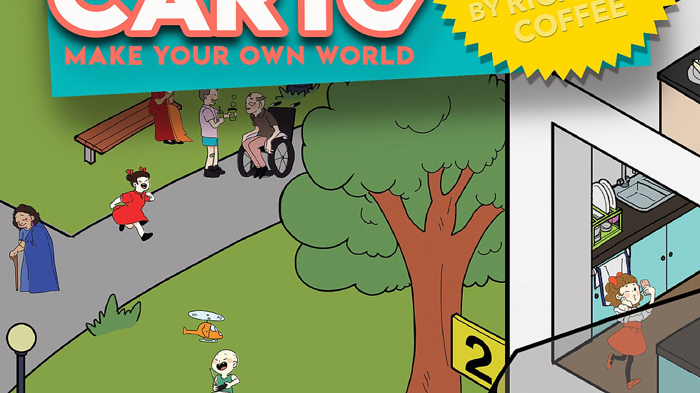 Storycarto: RETRO CITY SERIES