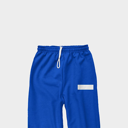CLASSIC SWEATPANTS // Royal Blue & White
