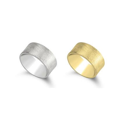 FLORENTINE RINGS // Sterling Silver & 24K Gold Plating
