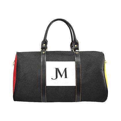 JM COMPANY COLOR-BLOCK TRAVEL BAG #2 // Multicolored