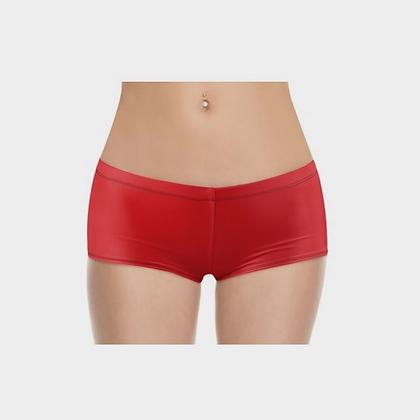 LADIES BOYSHORTS (PANTIES) // Red