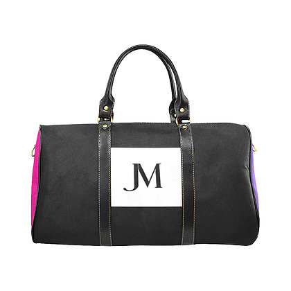 JM COMPANY COLOR-BLOCK TRAVEL BAG #3 // Multicolored