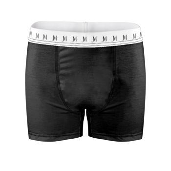 EXCLUSIVE JM LOGO BOXER BRIEFS // Black & White