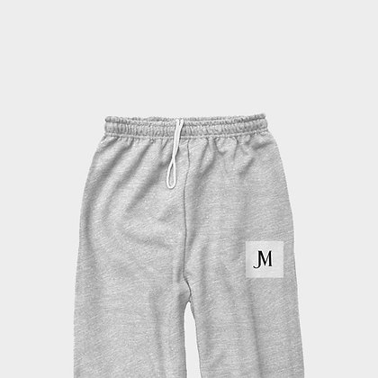 EXCLUSIVE JM CLASSIC SWEATPANTS // Ash Grey, White, & Black