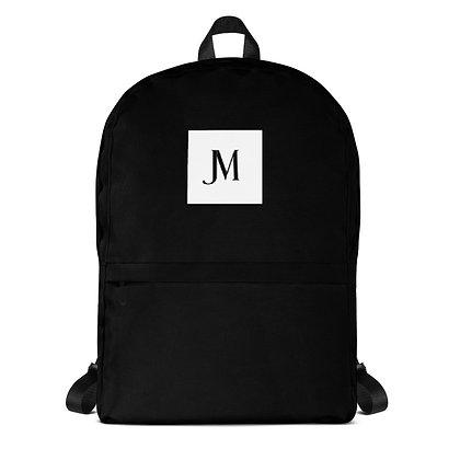 EXCLUSIVE JM LOGO BACKPACK // Black with JM Logo