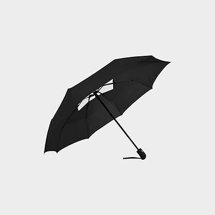 JM DESIGNER ANTI-UV AUTOMATIC UMBRELLA // Black & White