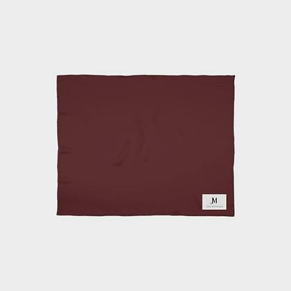 SILK SCARF WRAP (SHAWL) // Burgundy