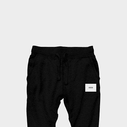 EXCLUSIVE XXIII JOGGER PANTS // Black & White