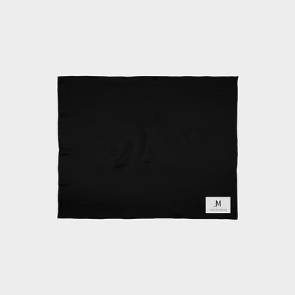 SILK SCARF WRAP (SHAWL) // Black