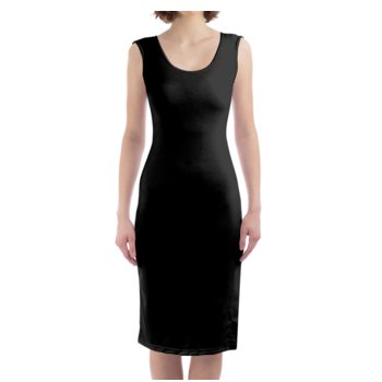 WOMEN'S BODYCON DRESS // BLACK
