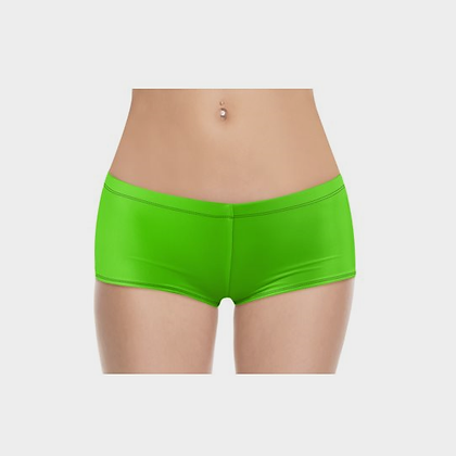LADIES BOYSHORTS (PANTIES) // Neon Green