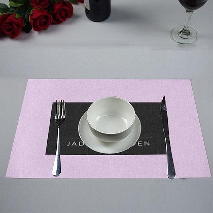 JM COMPANY LOGO PLACEMATS (Set of 4) // Lavender, Black, & White