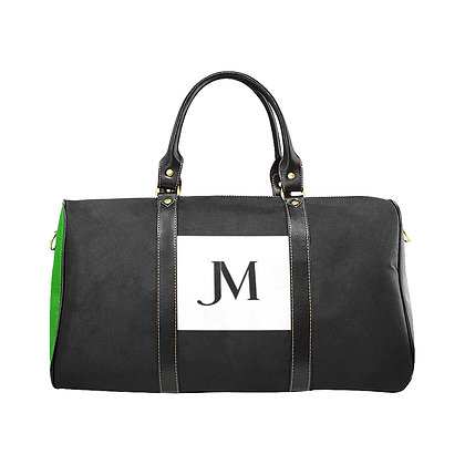 JM COMPANY COLOR-BLOCK TRAVEL BAG #4 // Multicolored