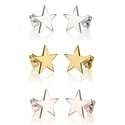 KIDS STAR STUD EARRINGS // Multiple Colors