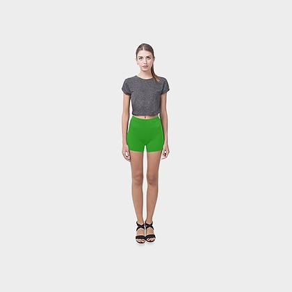 SKINNY SHORTS // Green