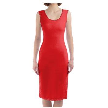 WOMEN'S BODYCON DRESS // Red