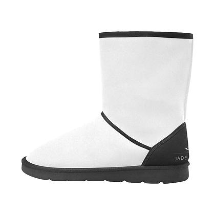 WOMEN'S JM COMPANY SNOW BOOTS // White & Black