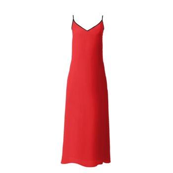 SOPHIA SLIP DRESS // Red