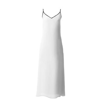 SOPHIA SLIP DRESS // White