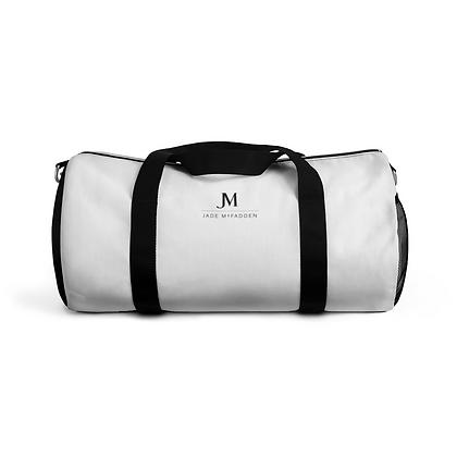LADIES JM COMPANY DUFFLE BAG // Black & White