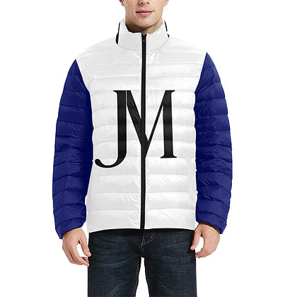 MEN'S JM LOGO LIGHTWEIGHT QUILTED PUFFER JACKET // Multicolored