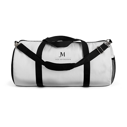 MEN'S JM COMPANY DUFFLE BAG // Black & White