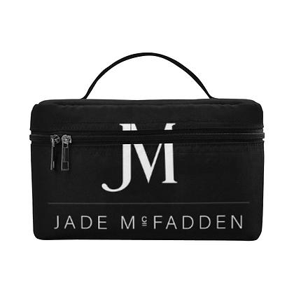 JM COMPANY WATERPROOF COSMETIC BAG // Black & White