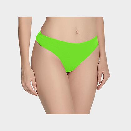 WOMEN'S CLASSIC THONG // Neon Green