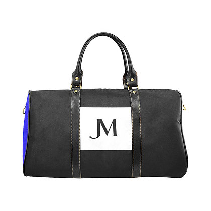 JM COMPANY COLOR-BLOCK TRAVEL BAG #1 // Multicolored