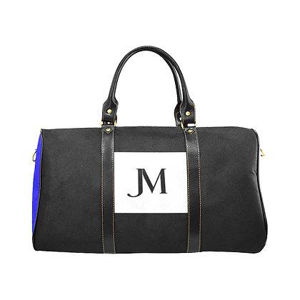 JM COMPANY COLOR-BLOCK TRAVEL BAG #1 // Multicolored