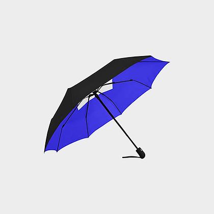 JM LOGO ANTI-UV AUTOMATIC UMBRELLA // Black, Blue, & White