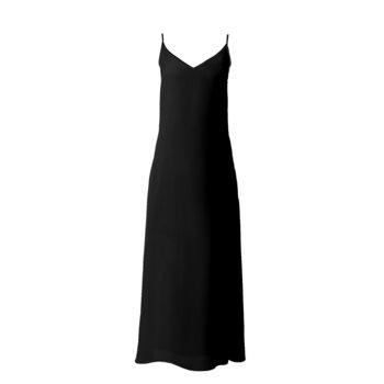 SOPHIA SLIP DRESS // Black