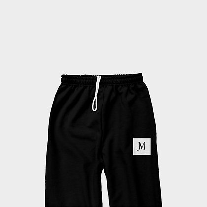 EXCLUSIVE JM CLASSIC SWEATPANTS // Black & White