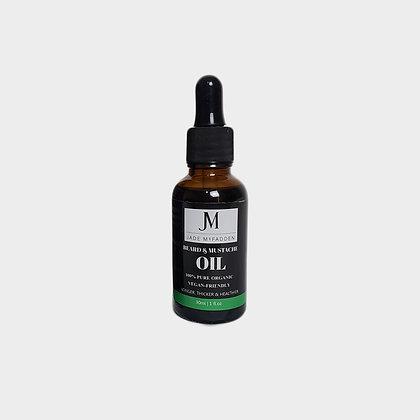 ORGANIC BEARD & MUSTACHE OIL // LEMON SCENT