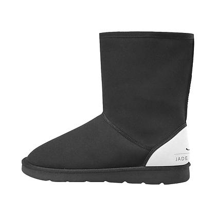 WOMEN'S JM COMPANY SNOW BOOTS // Black & White