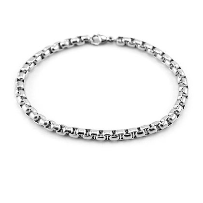 MEN'S CHAIN BRACELET // Sterling Silver