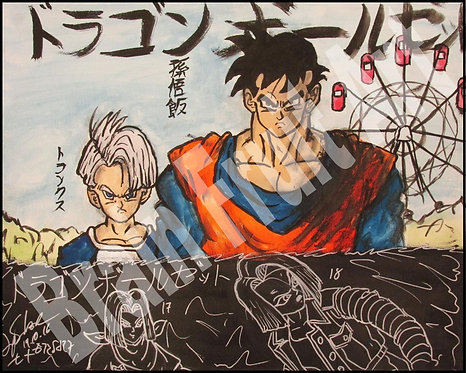 Future Gohan and Trunks