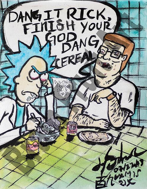 Rick and Hank