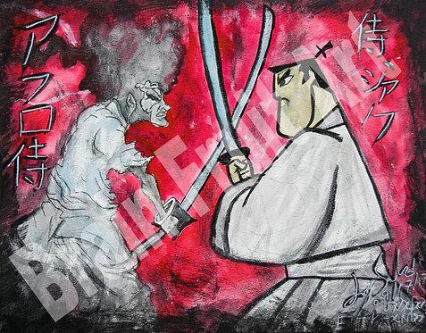 Afro-samurai v. Samurai Jack