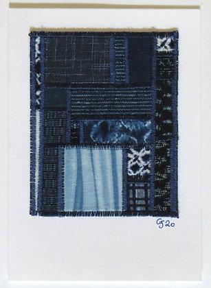 JG Textile Art Card 15