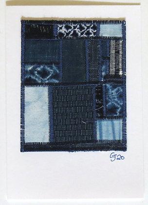 JG Textile Art Card 08