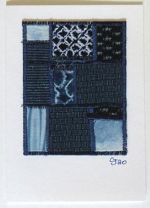 JG Textile Art Card 09