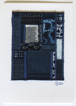 JG Textile Art Card 11