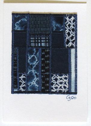 JG Textile Art Card 07