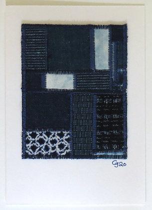 JG Textile Art Card 02