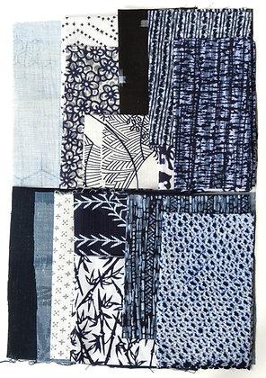 Japanese Fabric Scrap Pack 001