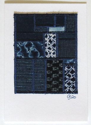 JG Textile Art Card 06