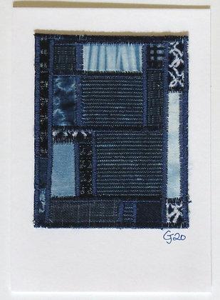 JG Textile Art Card 12