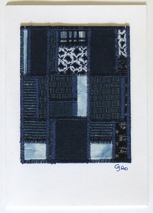 JG Textile Art Card 13