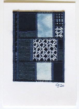 JG Textile Art Card 10